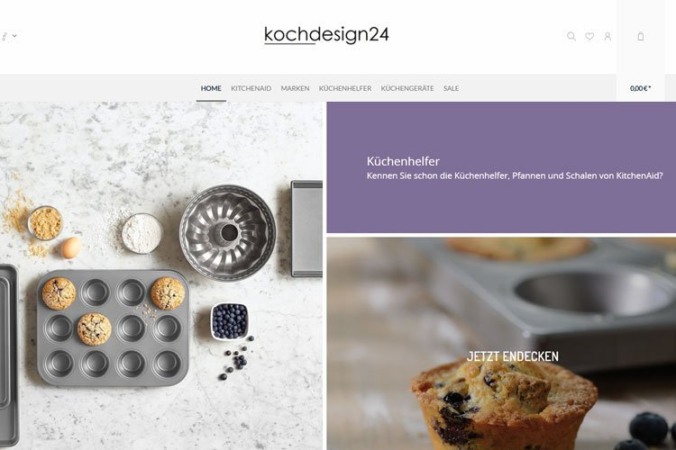 kochdesign24.de ist begeistert von enerSpace Webhosting