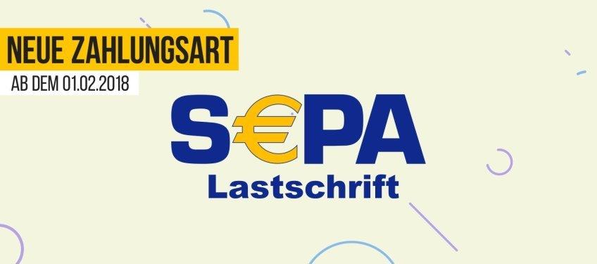 SEPA-Lastschrift ab 01.02.2018