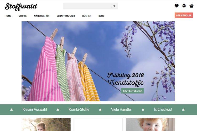 stoffwald.ch Ihr Marktplatz für alle Stoffe