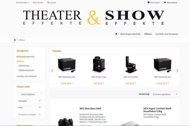 Theater & Showeffekte